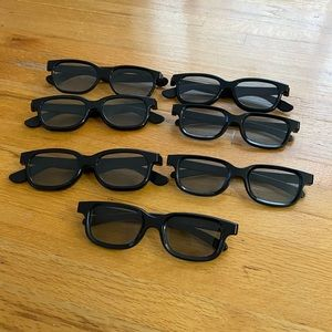 Real 3D Glasses | Includes 7 Glasses